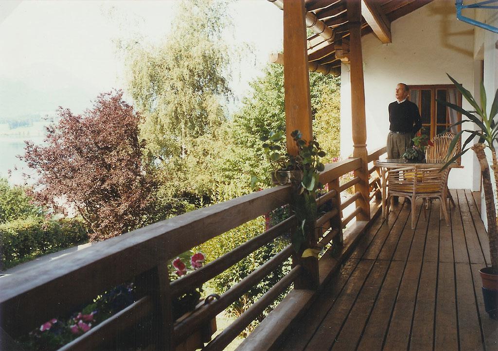 Johann Nepomuk Glöggler im Haus Hopfen am See