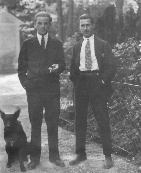 Johann Nepomuk Glöggler 1932 in London
