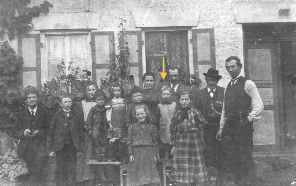 Glöggler als Kind um ca. 1915